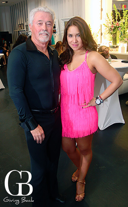 Larry Scott and Carolina Vasco