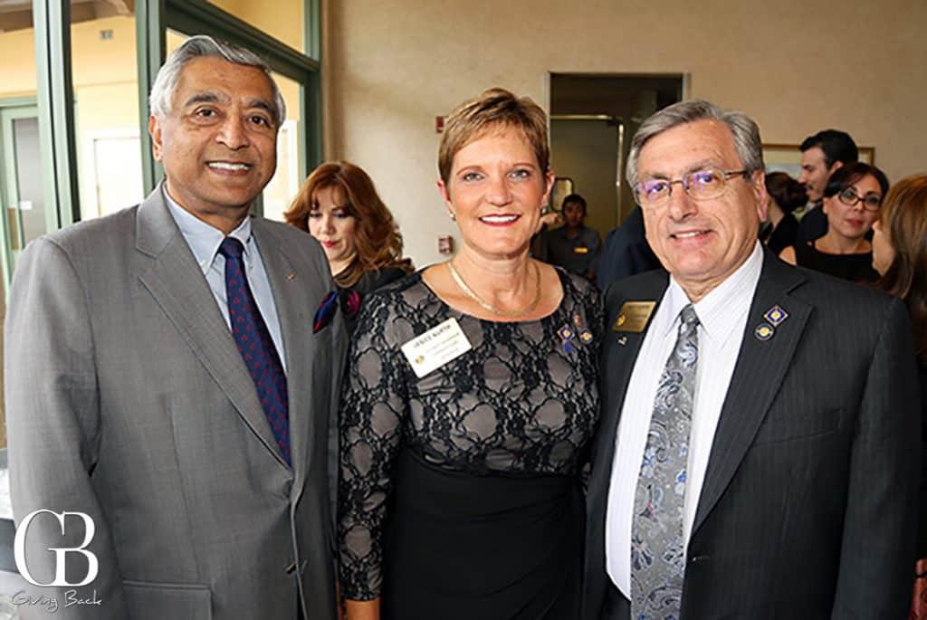 Larry Sundram with Janice and Matt Kurth