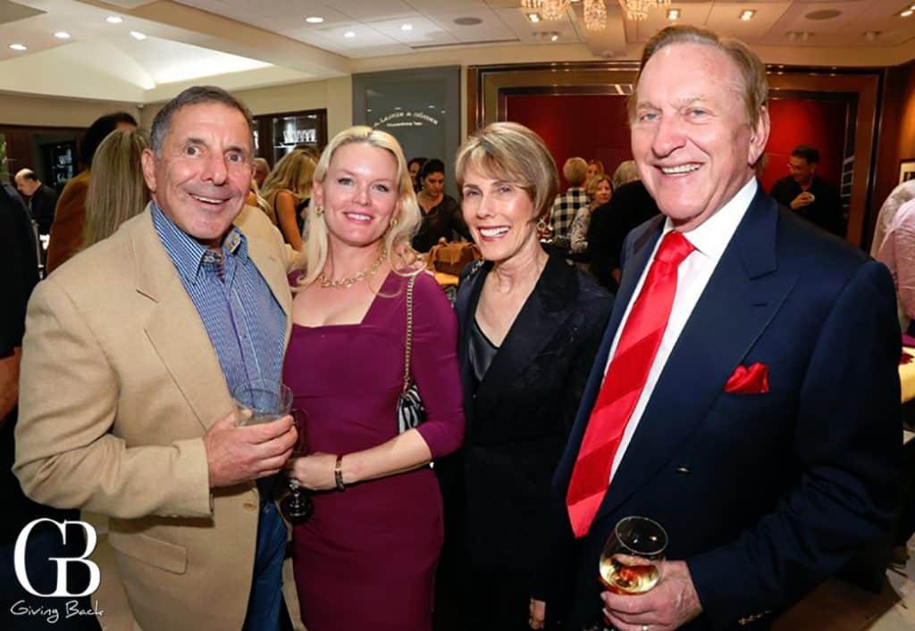 Larry and Carolina Katz with Nina and Bob Doede