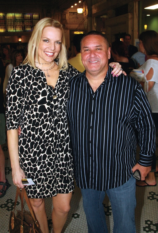 Laura Cain and Tommy Sablan.JPG
