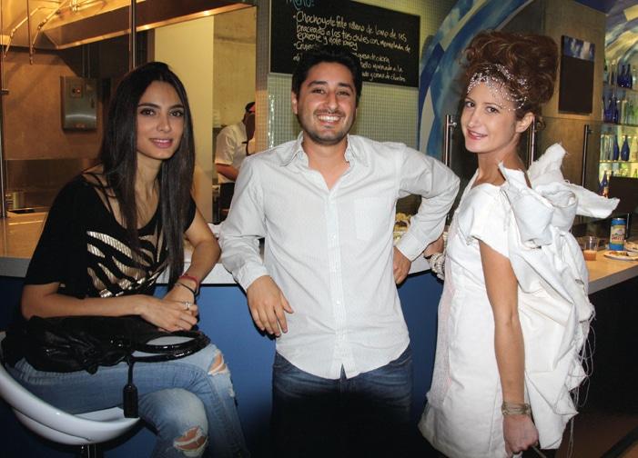 Laura Lopez, NAcer Malof y Paola Gonzalez