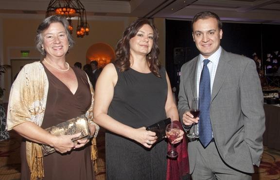 Laura McLane, Eunice Munro and Enrique Gonzalez