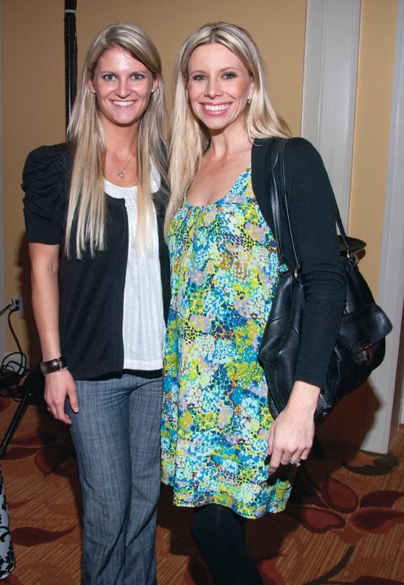 Laura Mcgurty and Ashley Hayek