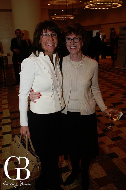 Laura McDonald and Juanita Hayes