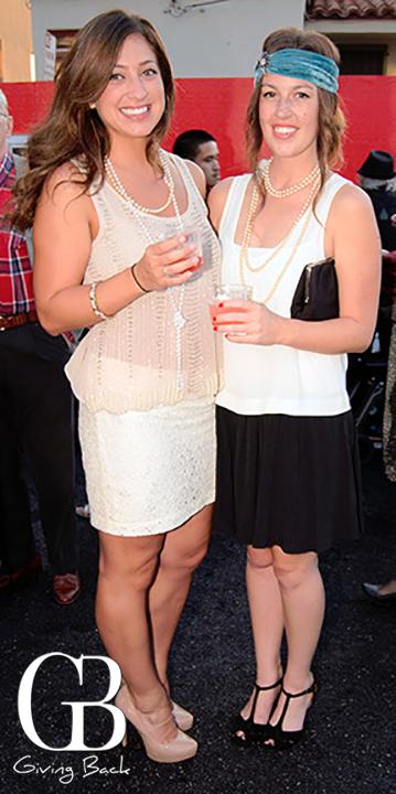 Laura Pankratius and Alicia Mitchell