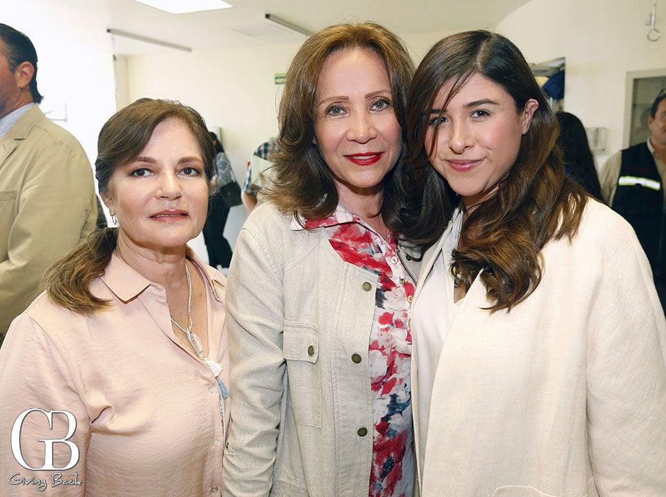Laura Rodriguez  Rosana Pineda y Melisa Sanchez