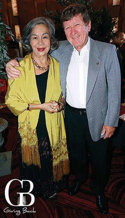 Laura and Franz Reinert