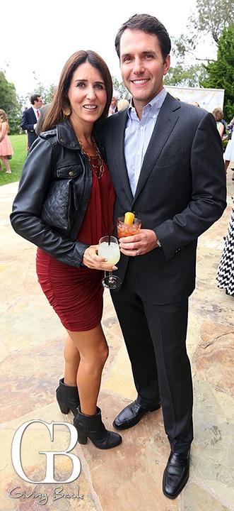 Lauren and Steve Simpson