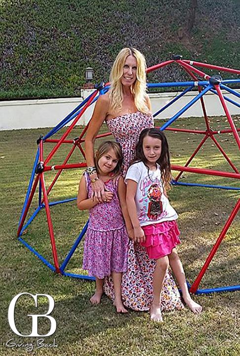 Lauren with Daniela and Alexa
