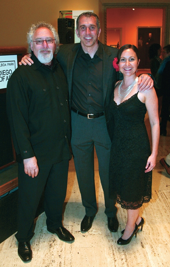 Law Klein, Russell King and Paloma Patterson.JPG