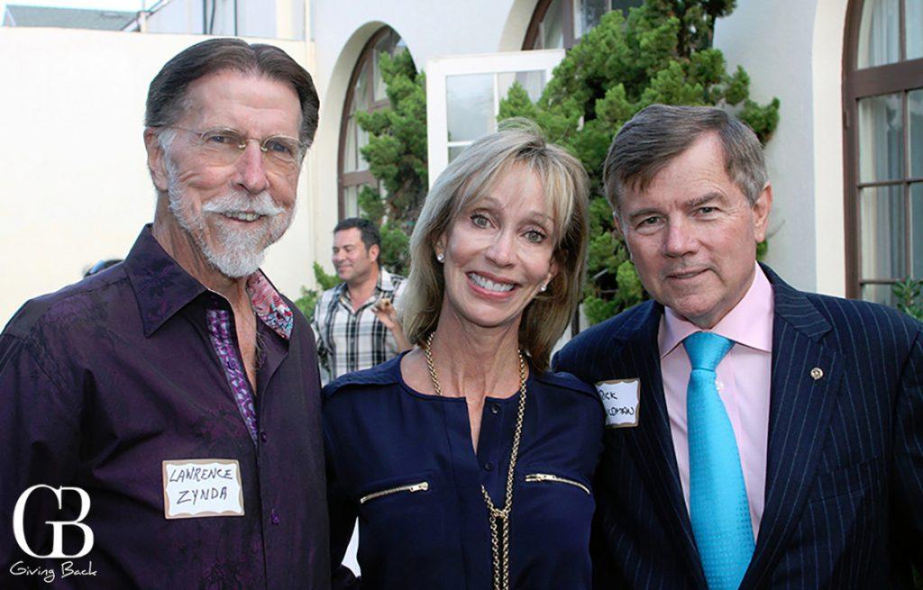 Lawrence Zynda  Deb Arnau and Rick Wildman
