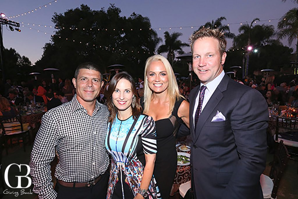 Leandro and Nicole Velasquez with Jennifer and Robert Gramins