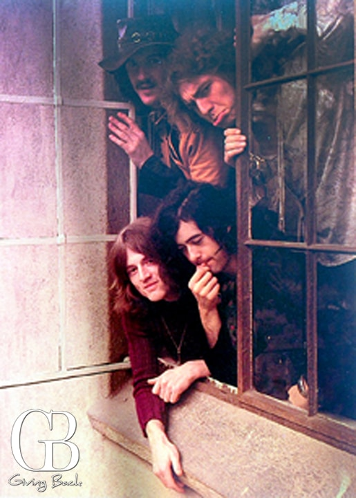 Led Zepplin at Chateau Marmont