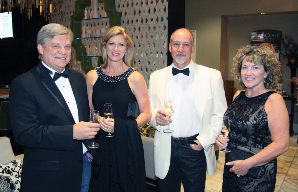 Lee Phillips, Christine and Jon Baker and Linda Phillips.JPG
