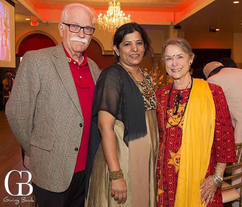 Lee Freeman  Sunita and Pat Freeman