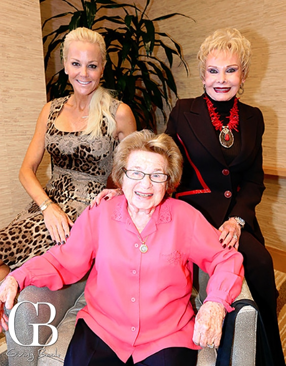 Lee Posnock and Lee Goldberg with Dr. Ruth Westheimer