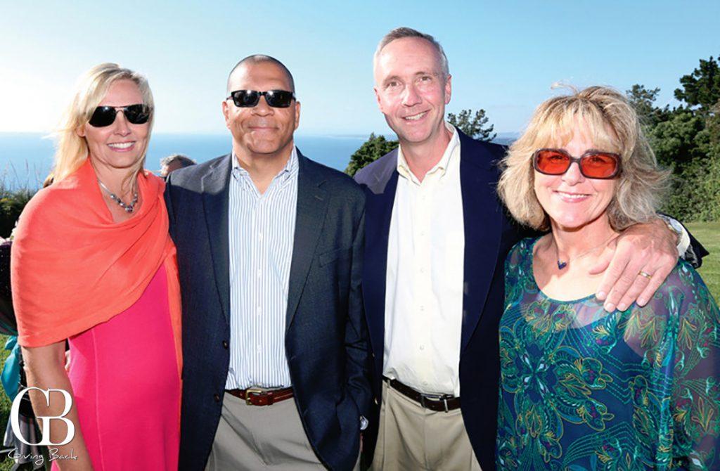 Leona and Steve Sublett with Steve and Karen Toohill