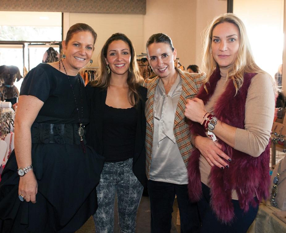 Leslie Russo, Marla Ariza, Isela Ramos y Rosanna Klachky