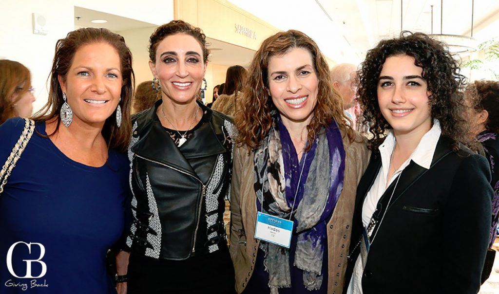 Leslie Russo  Myriam Smotrich  Hadas Baron and Danielle Smotrich