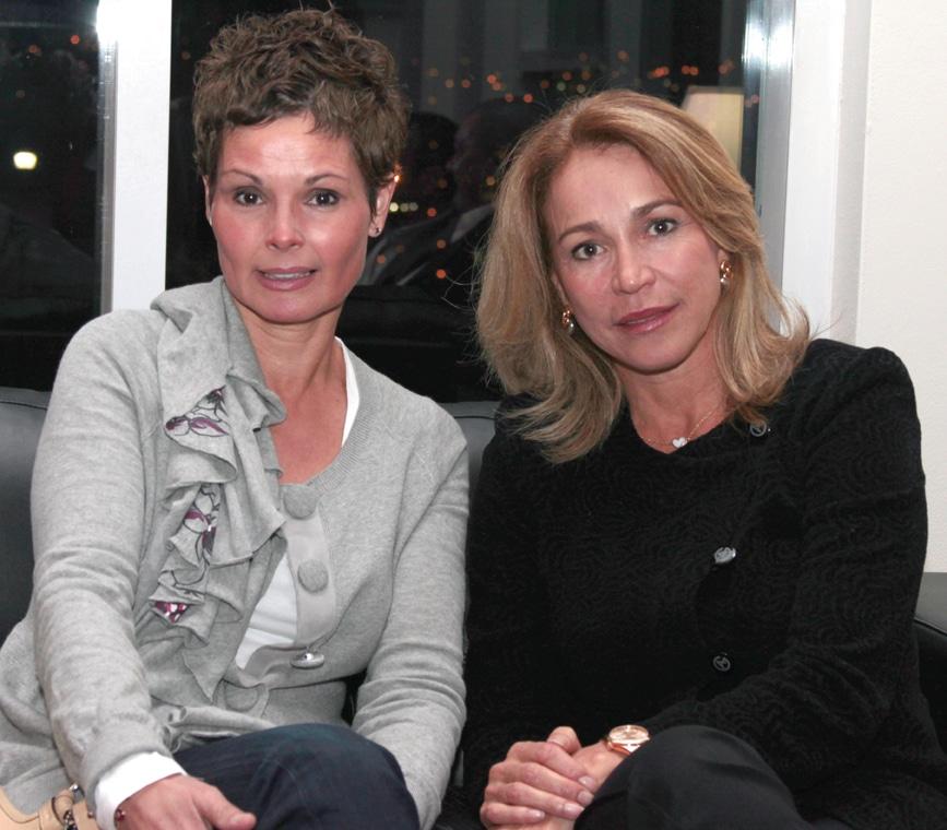 Leticia Murguia y Olga Gallardo