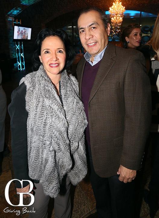 Leticia and Eduardo Martinez