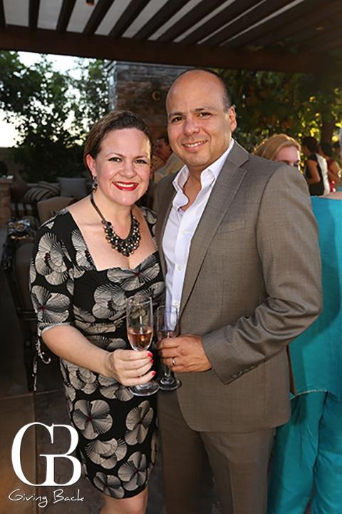 Libeth Flores y Jose Luis Contreras