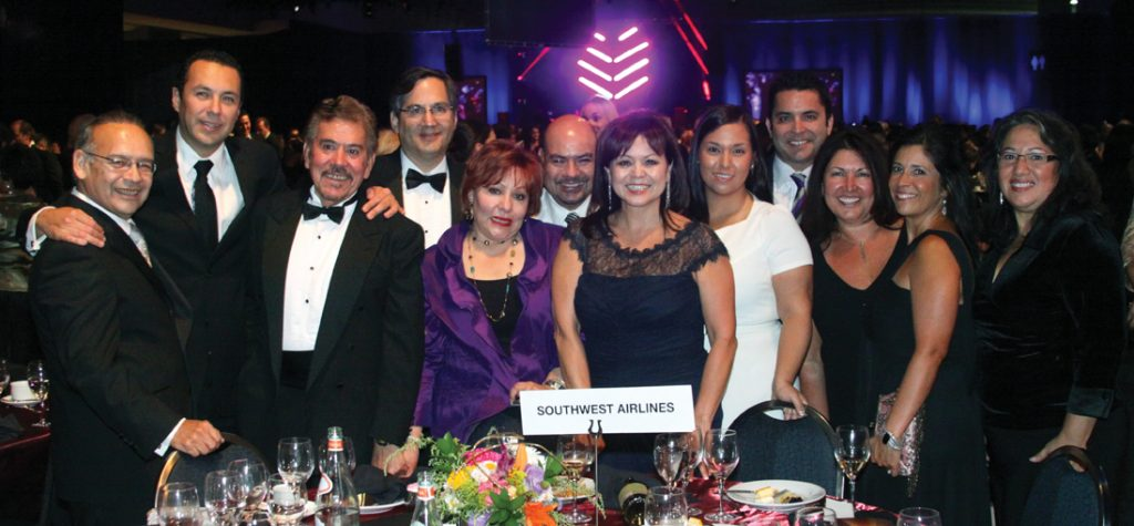 Lidia Martinez and the Southwest Airlines Team.JPG