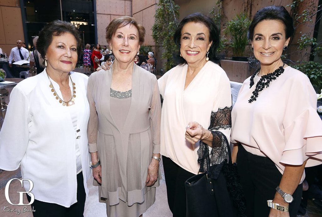 Lidia Aceves  Beatriz Jacobo  Cecilia Castellanos y Marcela De la Vega