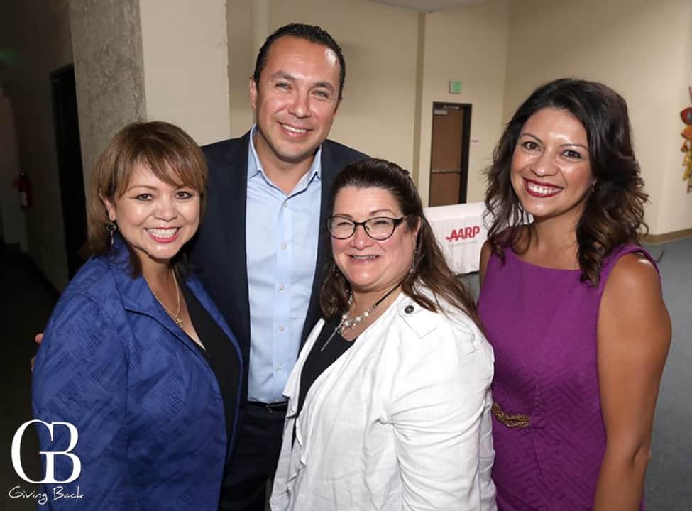 Lidia Martinez  Hector Sanchez  Lorraine Cortes Vazquez and Melody Gonzalez
