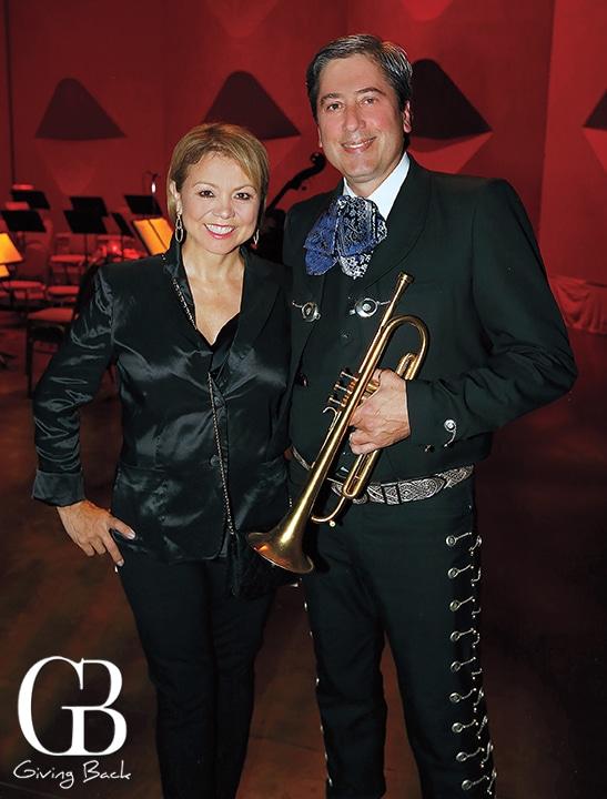 Lidia S. Martinez with Jeff Nevin
