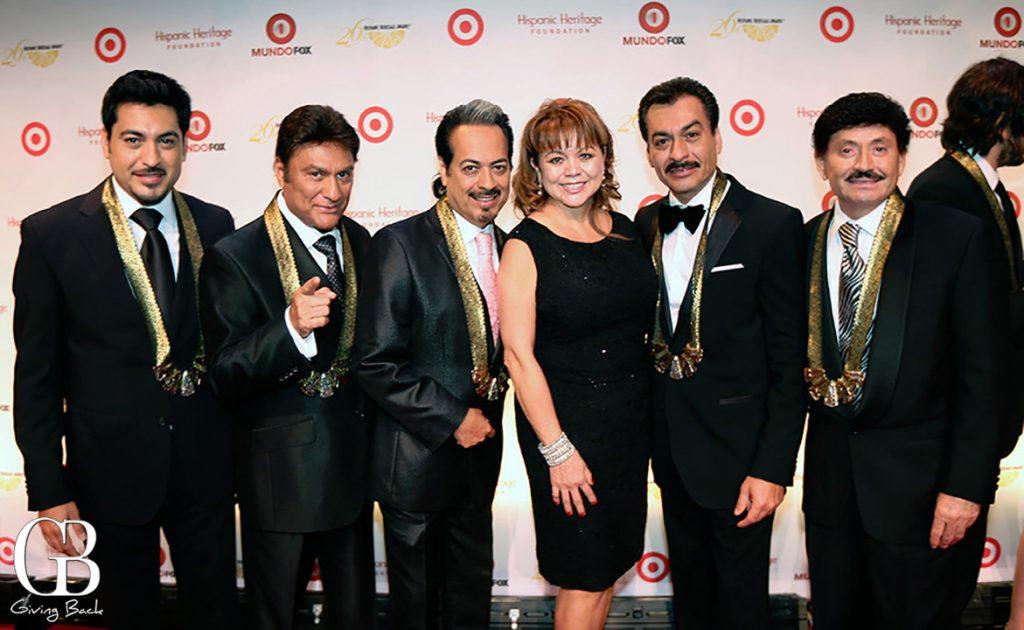 Lidia S. Martinez with Los Tigres Del Norte