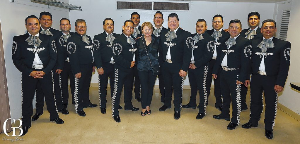 Lidia S. Martinez with Mariachi Vargas
