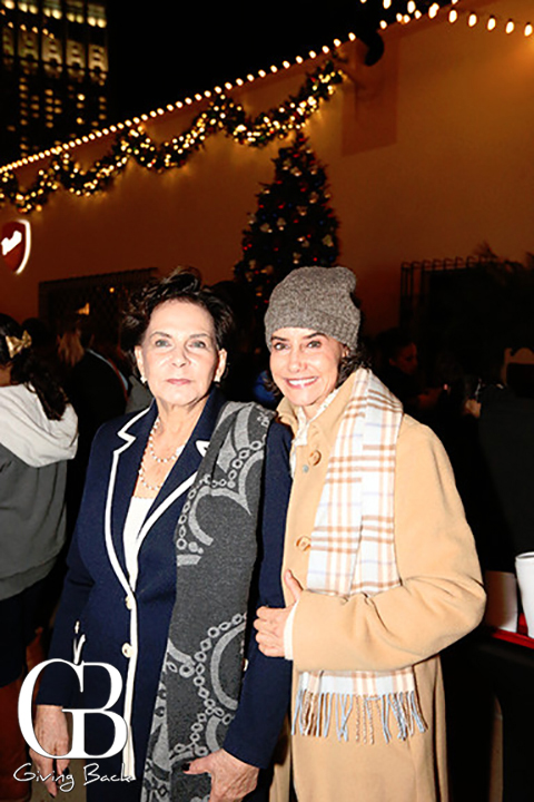 Ligia Tapanes and Jennifer Gordon