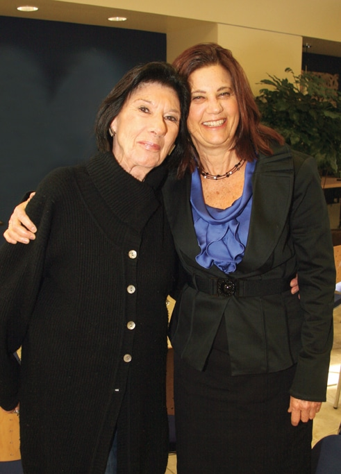 Lilian Weinberg  and Karine Schon.JPG