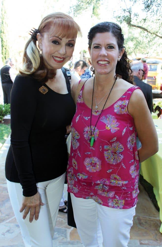 Liliana Binner and Lynn Goodridge.JPG