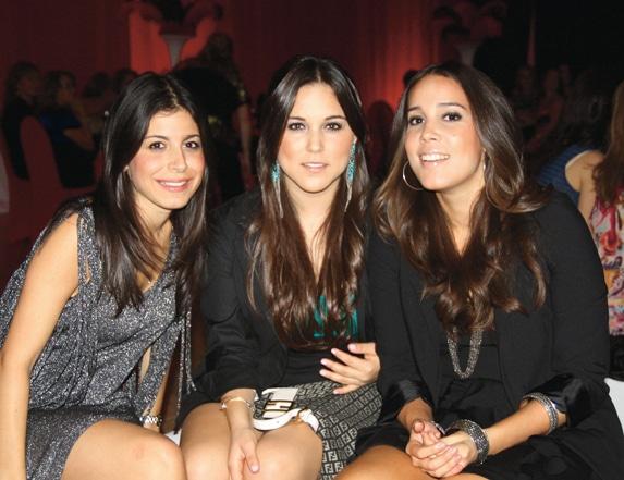 Liliana NAvarro, Karla Celis y Carla Arellano