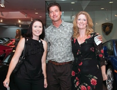 Linda Derobertis with Micheal and Sharal Hank