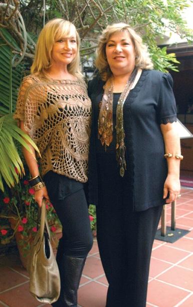 Linda Kerr and May Zawaideh.JPG