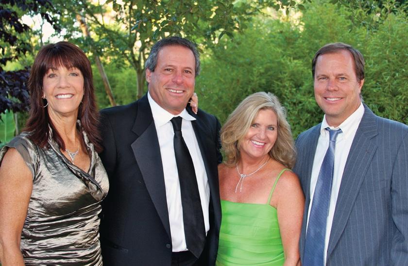 Linda and Ron Temko and Patty Robbins and Robert Reynolds