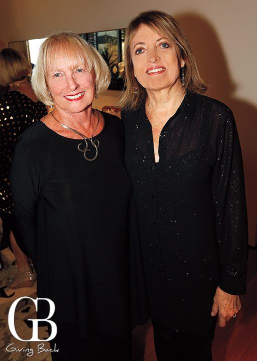 Linda Bernsen and Cordelia Mendoza