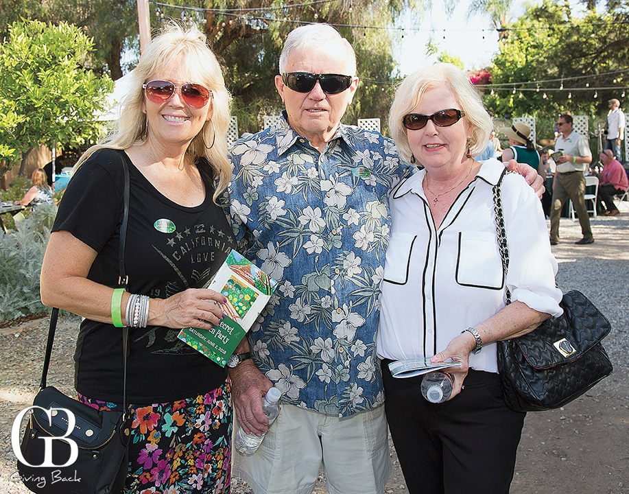 Linda Cooper with Gene and Natalie Fetty