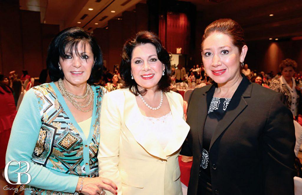 Linda Garcia  Carolina Aubanel y Pely Guevara