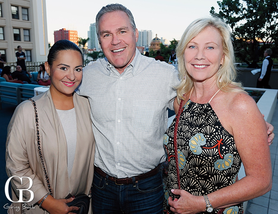 Linda Karimi  David Graham and Tracy Neumann