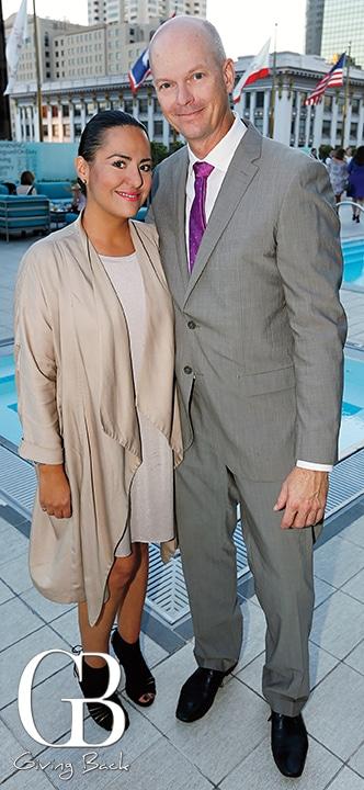 Linda Karimi and Richard Cox