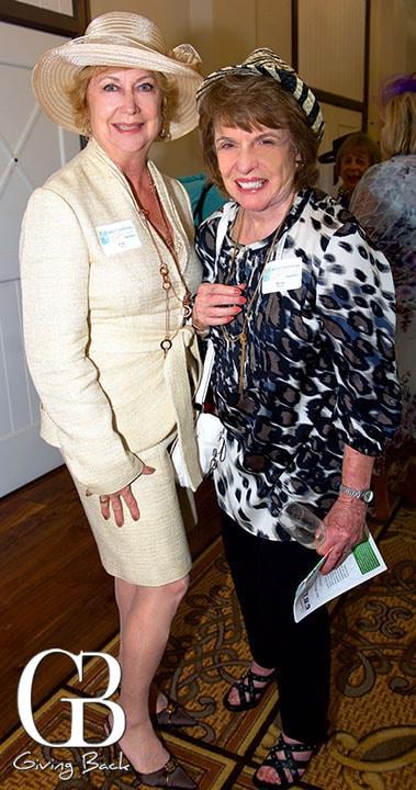 Linda LaCom and Marilyn Marshall