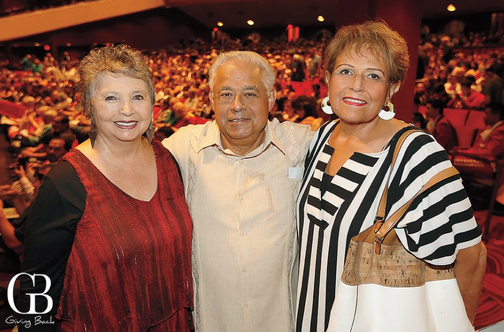 Linda LeGerrette with Roger and Delia Talamantez