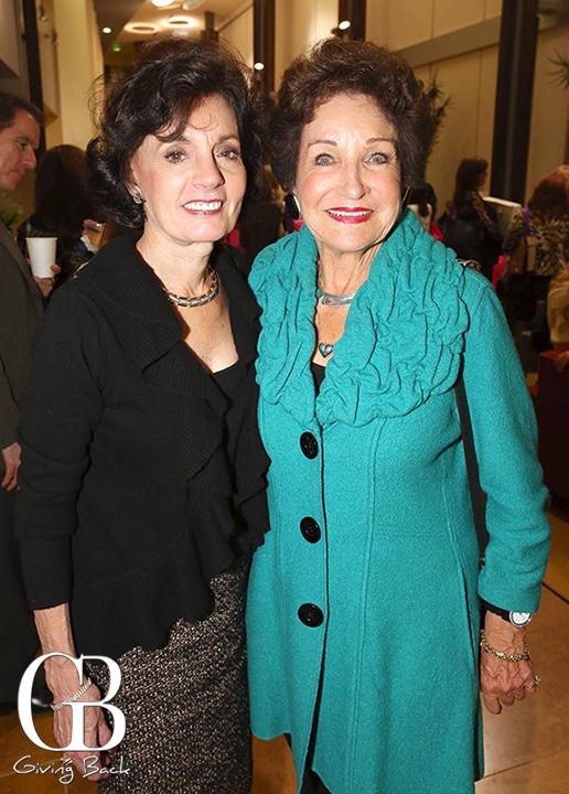 Linda Satz and Esther Nahama
