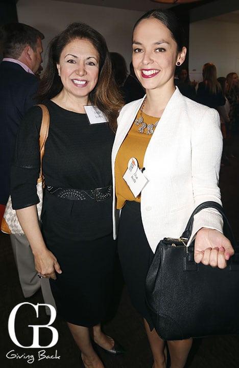 Linda Sierra and Elsa Roth