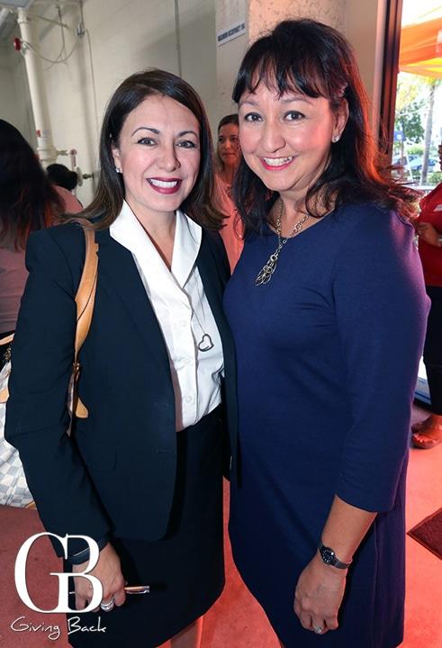 Linda Sierra and Sofia Salgado