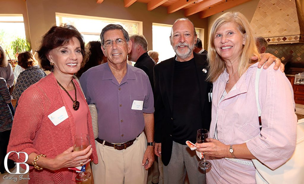 Linda and Joseph Satz with Rocky Smoilin and Marsha Sutton